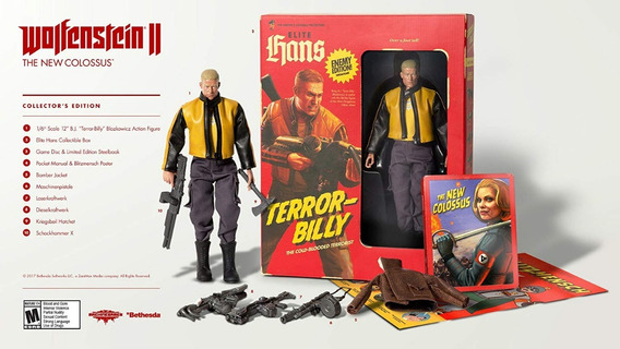 Wolfenstein Ii: The New Colossus Collector