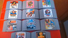 Lote De 11 Fitas Nintendo 64