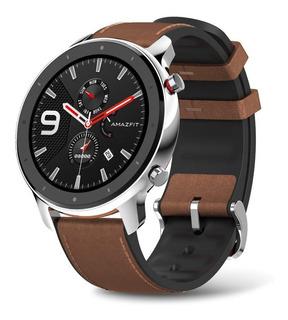 Reloj Xiaomi Amazfit Gtr Smartwatch Gps Cuero 47mm + Film