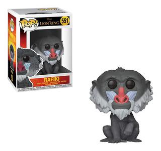 Figura Funko Pop Disney Rey León - Rafiki 551