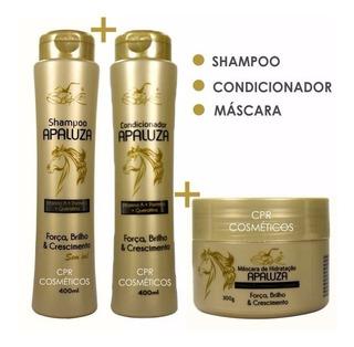 Atacado 18 Apaluza Belkit Shampoo / Condicionador / Máscara