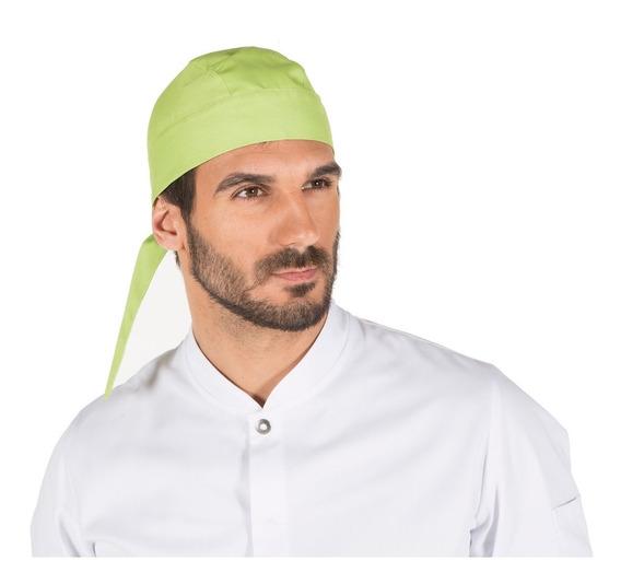 Gorro Pirata Para Chef O Cocinero Unisex Color Pistachio