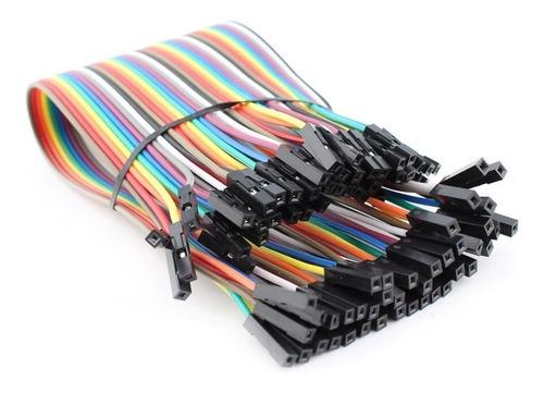 Cables Dupont Jumpers Para Protoboard 20cm 40piezas