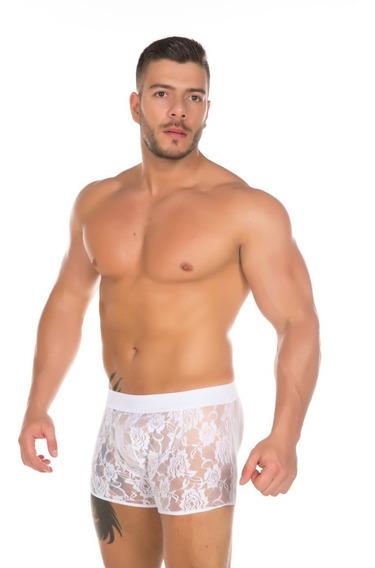Cueca Renda Masculina Sensual Erótica 50 Tons - Pimenta Sexy