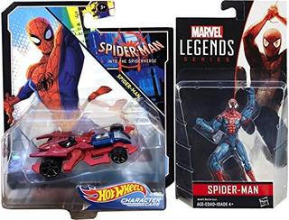 Hot Spider Rod Spider-verse Character Hot Wheels Spider-man