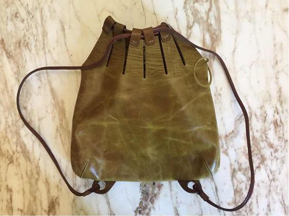 Cartera/mochila Cuero Maggio Rossetto
