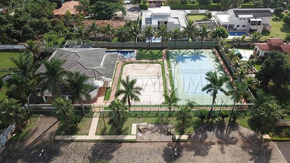 Belíssima Residencia Com Quadra De Tênis, Campo De Areia, Piscina, Sauna. - Villa95320