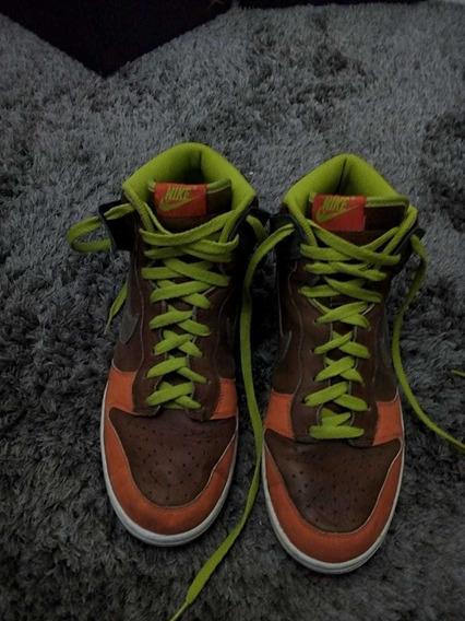 Tenis Nike Af1 Multicolor Reflectivos Talla 28.5