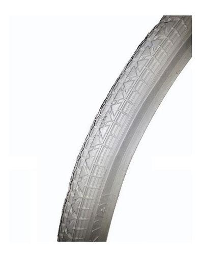 Imagen 1 de 4 de Cubierta Keops 24 X 1 3/8 X 1 1/4 Gris Para Silla De Rueda No Mancha El Piso- Racer Bikes