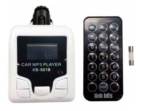 Imagen 1 de 5 de Transmisor Bluetooth Manos Libres Fm Control Vt-006
