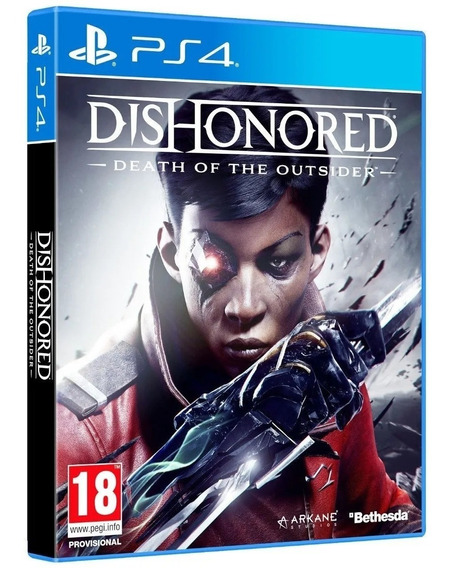 Dishonored Death Of The Outsider Ps4 Original Lacrado