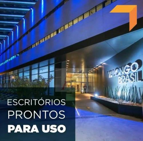 Sala Para Alugar No Bairro Valongo - Santos/sp - 1189