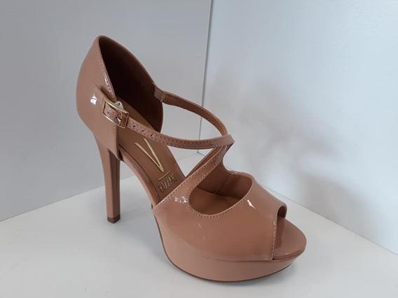 Zapato Mujer Vizzano Sandalia Taco 12cm Charol