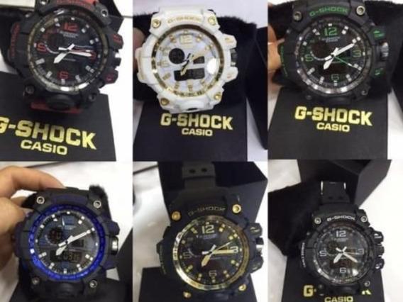 Relógios G-shock Casio Kit Com 5 Unidades