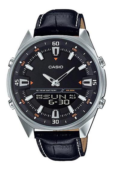 Relógio Casio Masculino Amw-830l-1avdf Com Nf