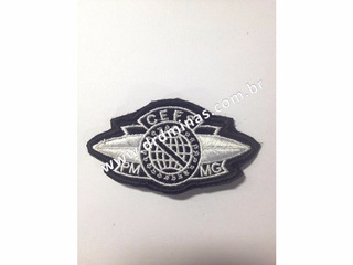 Patch / Distintivo Bordado Cefs - U