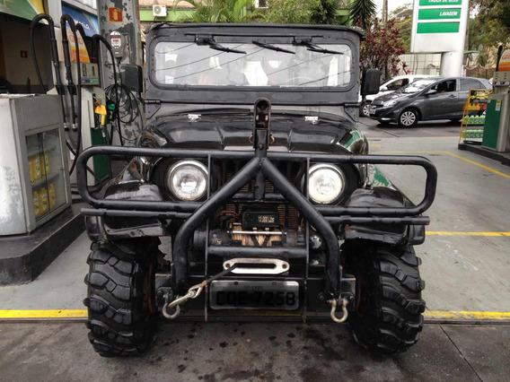 Jeep Willys Overland 4x4 1948 Mecâ. Ranger Injeção 5 Marchas