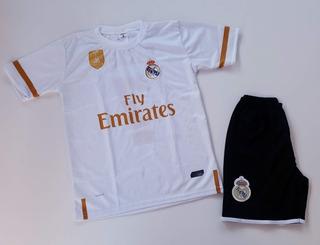 Conjunto Real Madrid Hazard Uniforme De Futebol Infantil