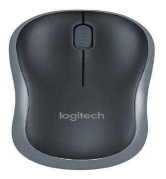 Mouse Logitech M185 Wireless Ergonomico - 910-002225