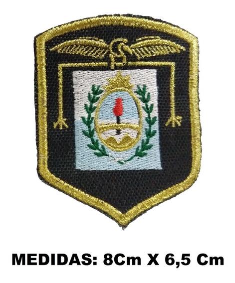 Escudo Parche Regimiento De Montaña Bordado Dorado Brazo