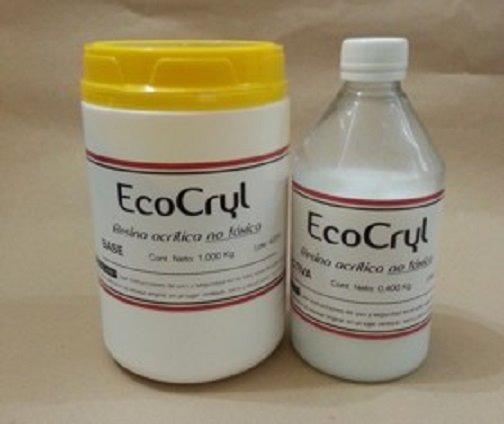 Resina Acrilica No Toxica Ecocryl Tecnarte X700kg Microcentr