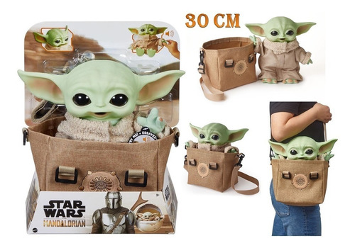 Baby Yoda Morral Star Wars  Grogu The Mandalorian Muñeco