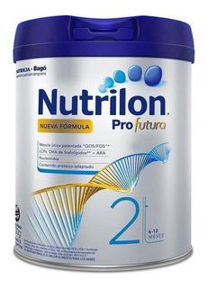 Leche de fórmula en polvo Nutricia Bagó Nutrilon Profutura 2 en lata de 800g