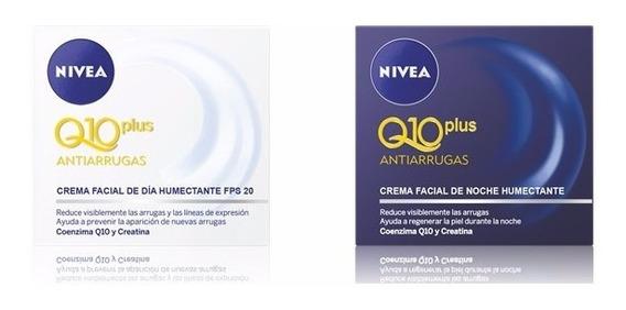 Crema Nivea Q10 Antiarrugas Día + Noche