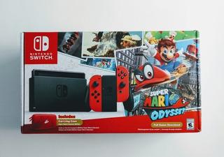 Consola Nintendo Switch + Mario Oddysey