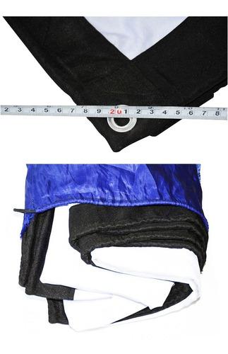 Pantalla De 200 PuLG Blanca Plegable 16:9 Led Dlp Portable
