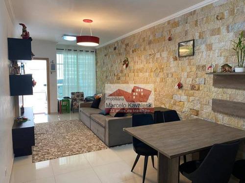 Imagem 1 de 21 de Sobrado Com 3 Dormitórios À Venda, 130 M² Por R$ 575.000,00 - Vila Arapuã - São Paulo/sp - So3350
