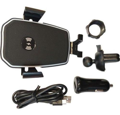 Suporte De Celular C/ Carregador Wireless 10w Difusor Knup