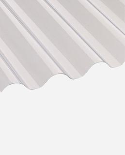 Chapa Plástica Acanalada - 1,10 X 6mts