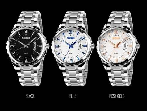 Relógio Top Marca De Luxo Skmei 1335 Aço Inoxidavel -oferta