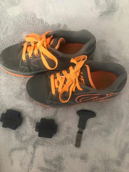 Zapatos De Ruedas Heelys Originales