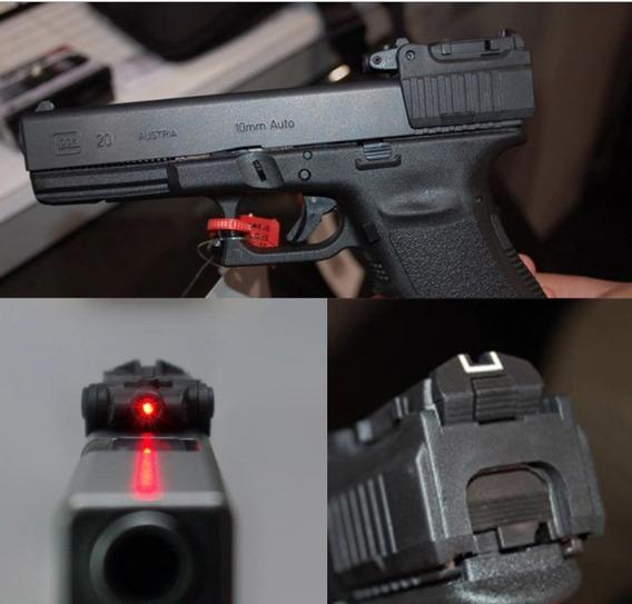 Mira Laser Glock Tactica Policias Militares Escoltas Envio G