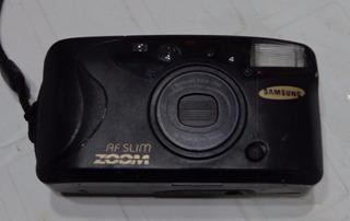 Antigua Camara De Rollo 35mm Samsung Af Slim Zoom