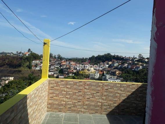Casa Com 3 Dormitórios Para Alugar Por R$ 1.800,00/mês - Planalto Bela Vista - Ribeirão Pires/sp - Ca0411