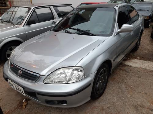Imagem 1 de 8 de Honda Civic 1999 1.6 Lx Aut. 4p