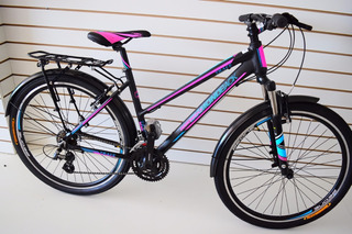Bicicleta Rodado 27.5 Dama Diamond Back Trace 21 V Full