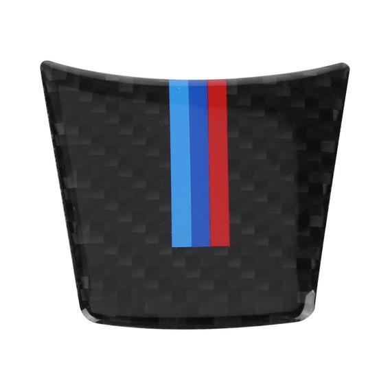 Carbono Fibra Carro Interior Governo Roda Decorativo Cobertu