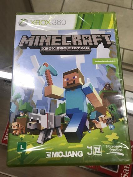Minecraft Xbox 360 Lacrado