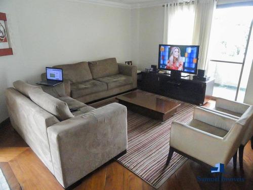 Imagem 1 de 15 de Apartamento Com 4 Dormitórios À Venda, 180 M² Por R$ 1.790.000,00 - Indianópolis - São Paulo/sp - Ap3420