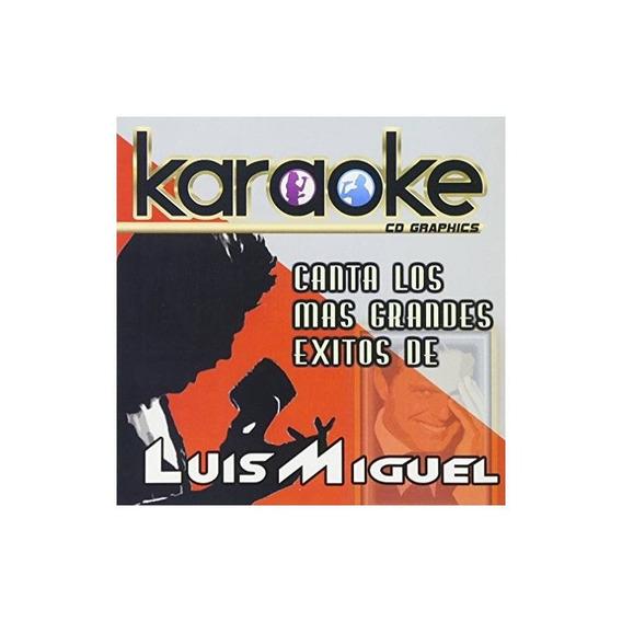 Miguel Luis Karaoke: Canta Como Luis Miguel Usa Import Cd