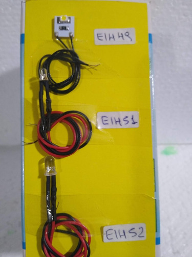 Nico 3 Leds De 3 Mm, Resistencia Y Cable Esc.todas (eih 51)
