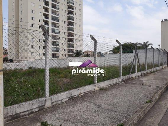 Terreno Para Alugar, 954 M² Por R$ 4.000,00/mês - Urbanova - São José Dos Campos/sp - Te1187