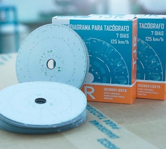 Disco Tacógrafo Semanal 125 Km 7d 70 Unidades Tjr Vdo Wurth