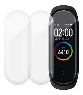 Película 9d Nano Gel Para Xiaomi Mi Band 5 Kit 2 Peliculas
