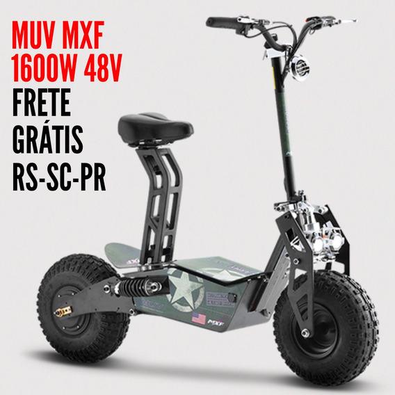 Patinete Muv Mxf Fun Motors Eletrico 1600w 48v Lançamento