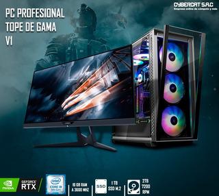 Cpu Gamer Intel I9 9900k 16gb Ram Rgb Rtx 2070 1tb Ssd + 2tb